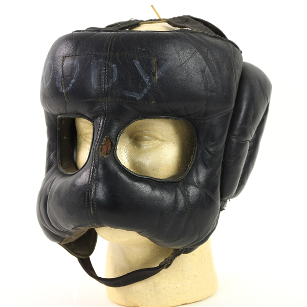 1970s-80s Goody Petronelli Marvin Hagler Trainer Sparring Headgear Mask (MEARS LOA)