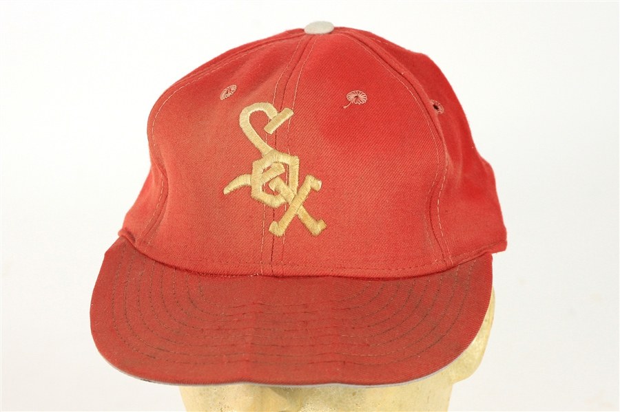 1972-73 Chicago White Sox Game Worn Cap (MEARS LOA)