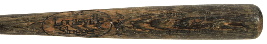 1980-83 Bucky Dent Yankees/Rangers Louisville Slugger Professional Model Game Used Bat (MEARS LOA)