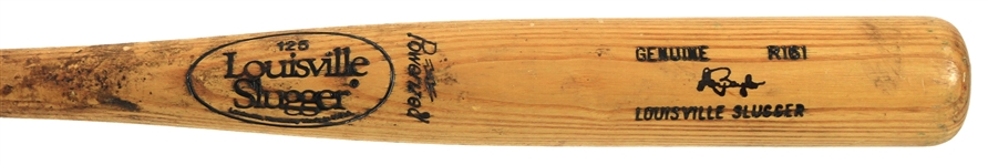 1983-85 Don Baylor New York Yankees Louisville Slugger Professional Model Game Used Bat (MEARS LOA)