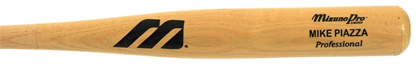 2000 Mike Pizza Los Angeles Dodgers Mizuno Professional Model Bat (MEARS A5)