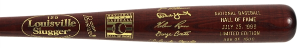 1999 Louisville Slugger Hall of Fame Indcution Class Commemorative Bat w/ Robin Yount, George Brett, Nolan Ryan & More (598/1,500)