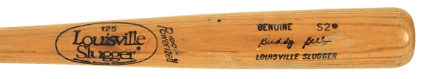 1983-85 Buddy Bell Rangers/Reds Louisville Slugger Professional Model Game Used Bat (MEARS LOA)