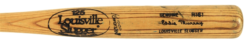 1980-83 Eddie Murray Baltimore Orioles Louisville Slugger Professional Model Game Used Bat (MEARS A8)