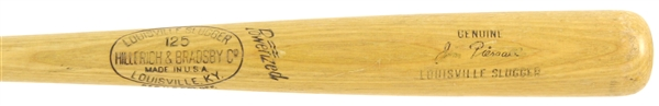 1961-63 Jim Piersall Indians/Senators H&B Louisville Slugger Professional Model Bat (MEARS LOA)