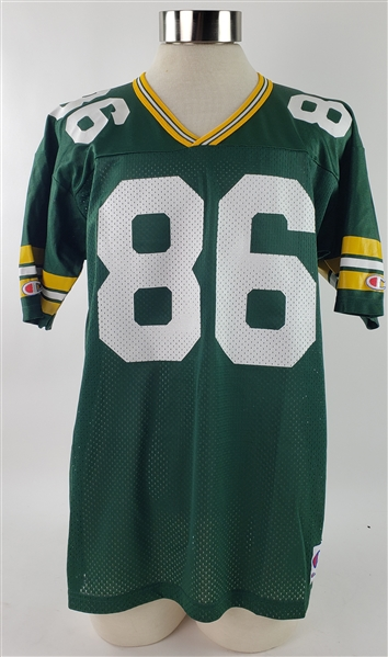 1995-2003 Antonio Freeman Green Bay Packers Signed Jersey (JSA)