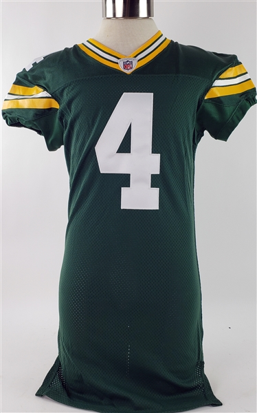 2011 Brett Favre Green Bay Packers Authentic Retail Jersey