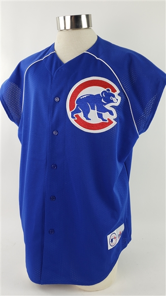 2000s Chicago Cubs Retail Jersey Vest