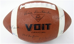 1966 Forrest Greggs Personal Super Bowl 1 Green Bay Packers World Champion Team Signed Football w/ 45+ Signatures w/ Vince Lombardi, Ray Nitschke, Jim Taylor & More (JSA)
