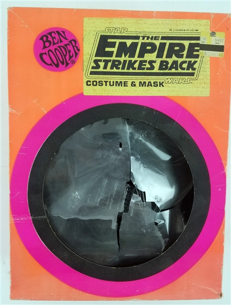 1980 Darth Vader MIB Ben Cooper Empire Strikes Back Costume & Mask