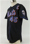 2002 John Franco New York Mets Signed Alternate Jersey (MEARS LOA/JSA)