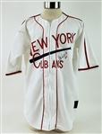 2001 Rey Ordonez New York Mets Signed Negro League Tribute Jersey (MEARS LOA/JSA)