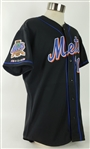 2002 Mike Piazza New York Mets Signed Alternate Jersey (MEARS LOA/JSA)