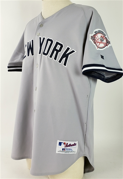 2003 Roger Clemens New York Yankees Signed Jersey (JSA)