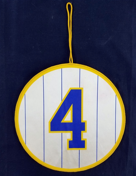 "1980s Paul Molitor Milwaukee Brewers 8.25"" Player Circle"