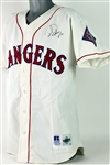 1996 Dean Palmer Texas Rangers Signed Game Worn Home Jersey (MEARS LOA/JSA)