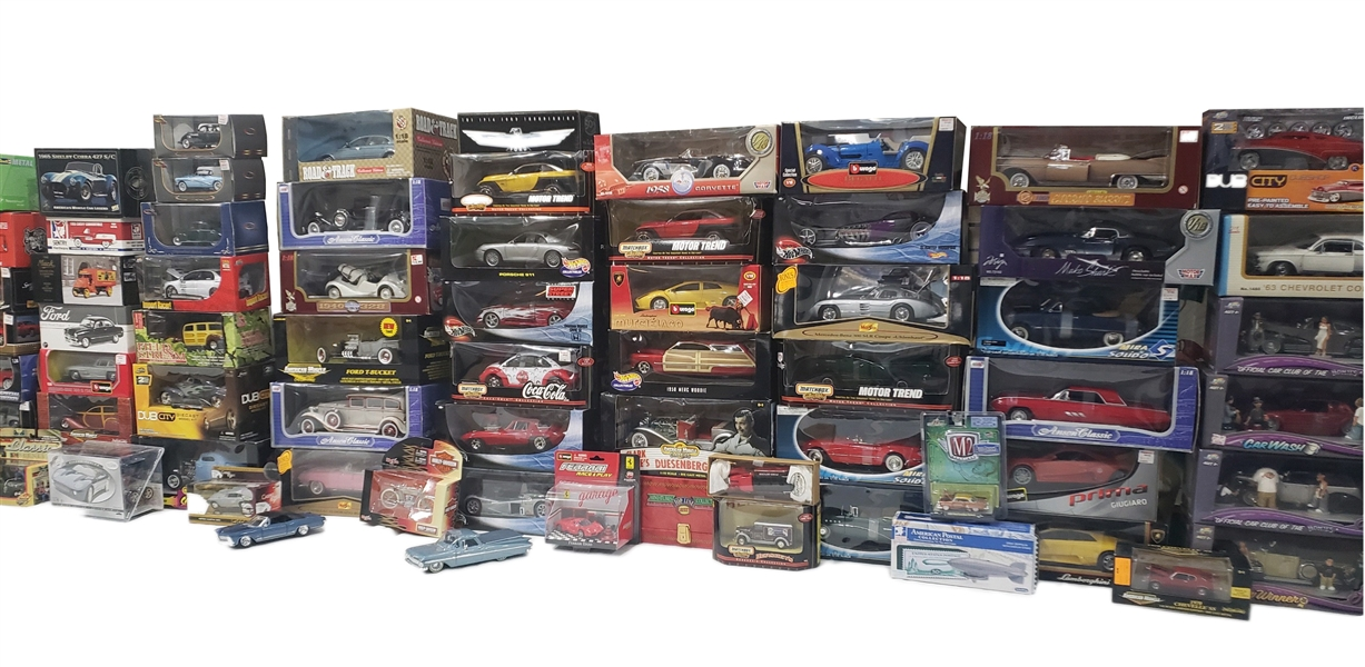 200+ Collectors Cards Automobiles, Various Manufacatures, MIB