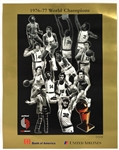 1976-97 Portland Trail Blazers Poster Collection - Lot of 2