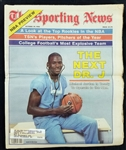 "1984 (October 29) Michael Jordan ""The Next Dr. J"" Sporting News NBA Preview Issue"