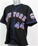 2002 Jay Payton New York Mets Game Worn Alternate Jersey (MEARS LOA)