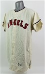 1962 Ryne Duren Los Angeles Angels Game Worn Home Jersey (MEARS A9.5)