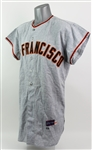 1963 Wes Westrum San Francisco Giants Game Worn Road Uniform w/ Pants & Belt (MEARS LOA)