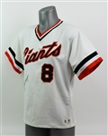 1981 Joe Morgan San Francisco Giants Signed Game Worn Home Jersey (MEARS A10/JSA)