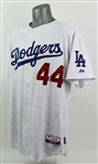 2009 Vicente Padilla Los Angeles Dodgers Signed Game Worn Home Jersey (MEARS LOA/JSA)