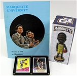 1969-2019 Marquette Basketball Program, Bobble Head, & Knicks Trading Cards