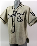 1930s Union Trust Co. Game Worn Flannel Baseball Jersey (MEARS LOA)