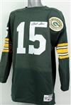 1990s Bart Starr Green Bay Packers Signed Champion Throwback Jersey (JSA)