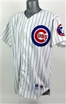 1994 Matt Franco Chicago Cubs Spring Training Home Jersey (MEARS LOA)