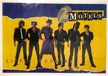 1982-83 The Motels All Four One Little Robbers Promotional Posters - Lot of 2