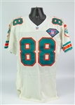 1994 Keith Jackson Miami Dolphins Road Jersey (MEARS A5)