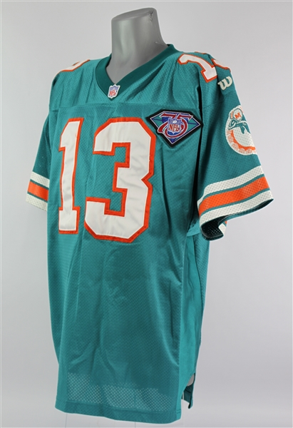 1994 Dan Marino Miami Dolphins Home Jersey (MEARS A5)