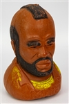 "1983 Mr. T 10"" Molded Plastic Piggy Bank"