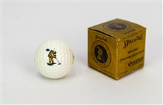 1971 Spalding First Golf Ball on the Moon Commemorative Golf Ball w/ Original Box