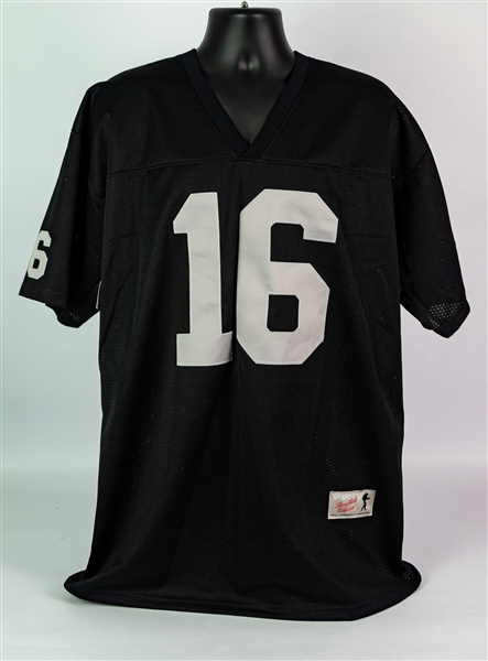 2000s George Blanda Oakland Raiders NY Sports Throwback Collection Jersey