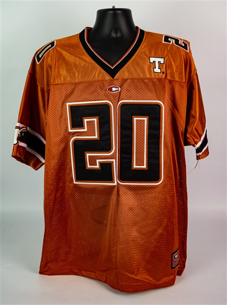 2000s Earl Campbell Texas Longhorns Signed Jersey (JSA)
