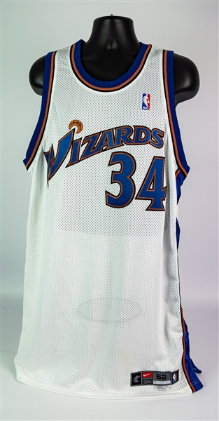 2002-03 Charles Oakley Washington Wizards Home Jersey (MEARS A5)