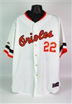 2004 Jim Palmer Baltimore Orioles Signed Cooperstown Collection Jersey (PSA/DNA)