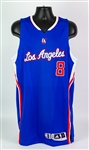 2015 Nate Robinson Los Angeles Clippers Alternate Jersey (MEARS LOA)