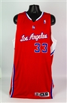 2013-14 Antawn Jamison Los Angeles Clippers Game Worn Road Jersey (MEARS LOA)