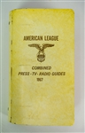 1967 American League Combined Press TV Radio Guides - Complete Binder of 10