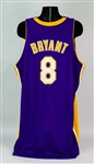 2005-06 Kobe Bryant Los Angeles Lakers Road Jersey (MEARS A5)