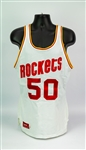 1983-86 Ralph Sampson Houston Rockets Game Worn Home Jersey (MEARS A10)