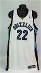2008-09 Rudy Gay Memphis Grizzlies Game Worn Home Jersey (MEARS A10)