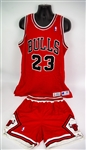 1991-92 Michael Jordan Chicago Bulls Road Uniform