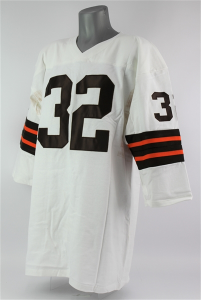 2000s Jim Brown Cleveland Browns Signed Jersey (JSA)