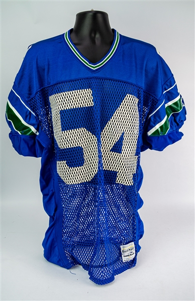 1987-88 Grant Feasel Seattle Seahawks Game Worn Home Jersey (MEARS LOA)